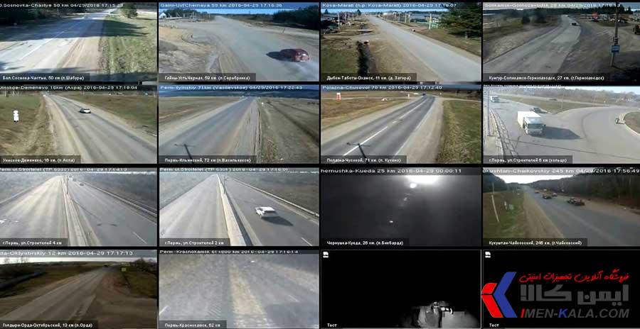 نصب دوربین های مدار بسته با هدف کنترل ترافیک