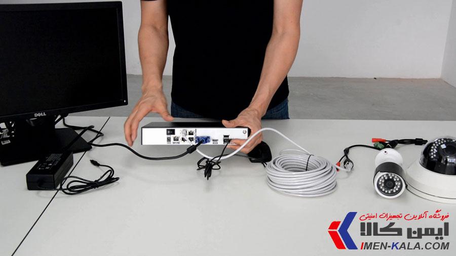 آموزش نصب دوربین مداربسته تحت شبکه IP