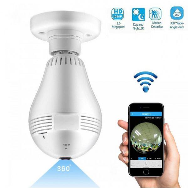دوربین بی سیم فیش ای لامپی