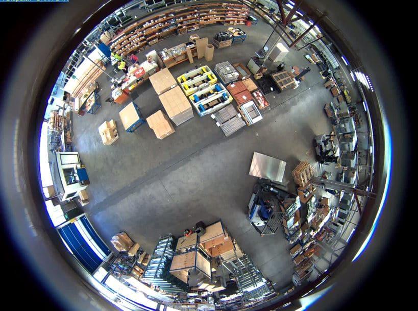 نمونه تصویر دوربین وایفای بیسیم لامپی