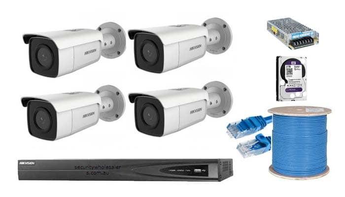 برای راه اندازی یک سیستم دوربین مداربسته به چه تجهیزاتی نیاز است؟