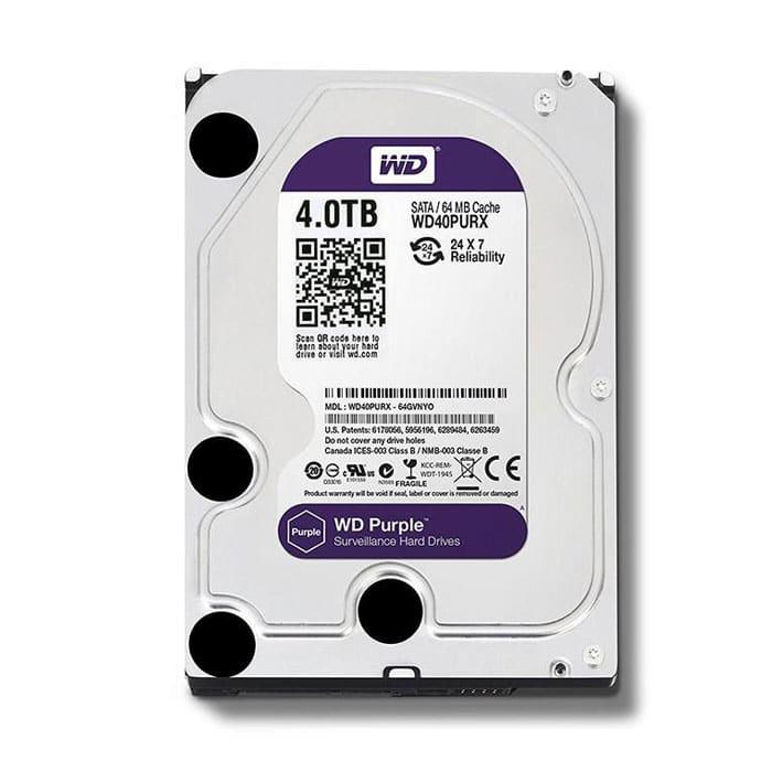 هارد اینترنال 4 ترابایت وسترن دیجیتال بنفش Purple