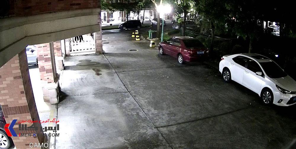 دوربین مداربسته استارلایت دید در شب رنگی