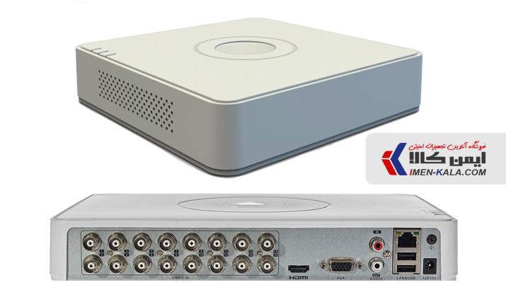 دستگاه دی وی آر 16 کانال هایک ویژن مدل DS-7116HQHI-K1 چهار مگاپیکسل